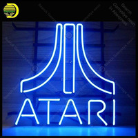 Neon sign For Atar Arcade Neon Bulbs sign Iconic Game Room Beer LOVE Handcraft Custom Lamps advertise Letrero enseigne lumine