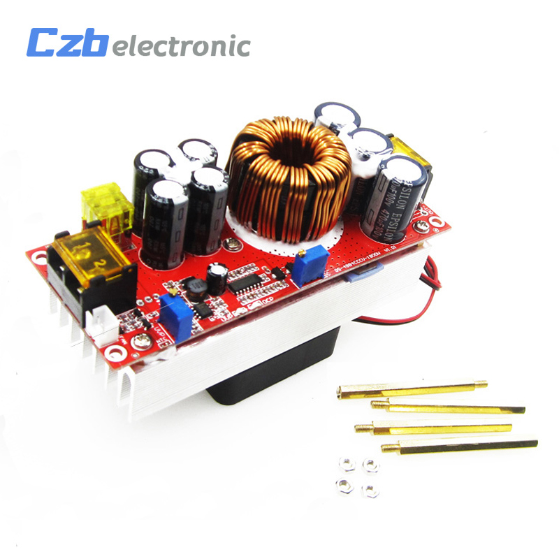 1800W <font><b>40A</b></font> <font><b>DC</b></font>-<font><b>DC</b></font> Boost Converter 10-60V to <font><b>12</b></font>-90V Step Up Power Supply Module image