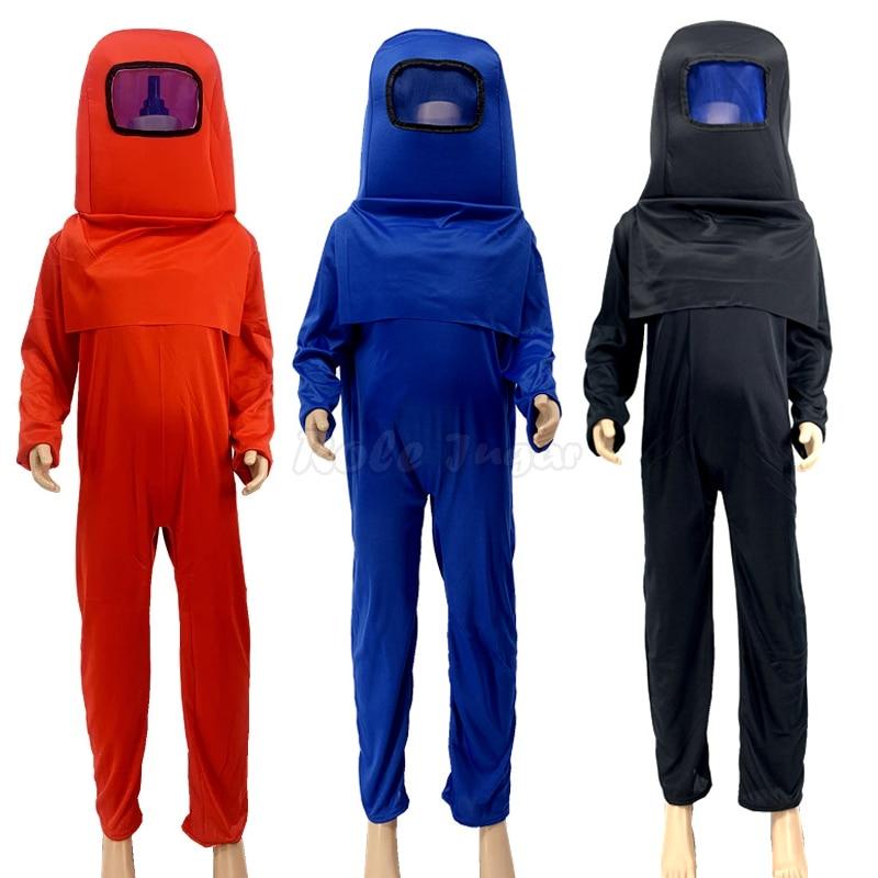 Новинка! Комплект детской одежды из 3 предметов с рисунком из Аниме игра у нас милые маскарадные костюмы, детская одежда для Хэллоуина, вечер...