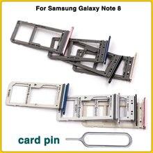 Лоток для sim карт samsung galaxy note 8 с одним и двумя слотами