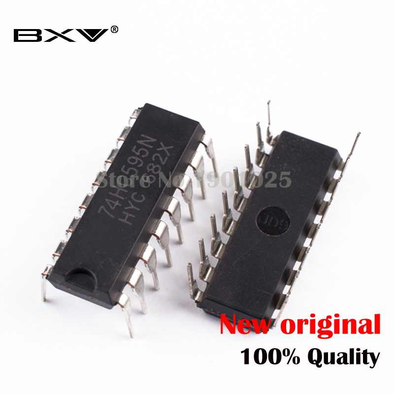 10pcs/lot SN74HC595N 74HC595 DIP-16 74HC595N DIP New And Original IC In Stock