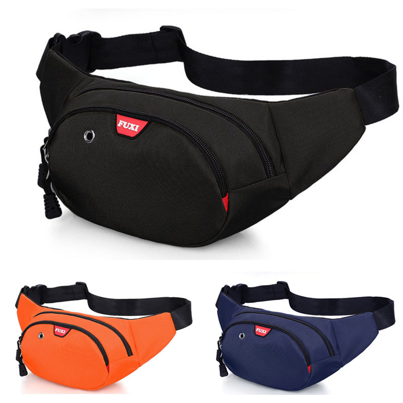 Running Waist Bag Waterproof Black /Blue /Orange Color Running Bags For Phone Sport City Jogging Bags Gym Bags