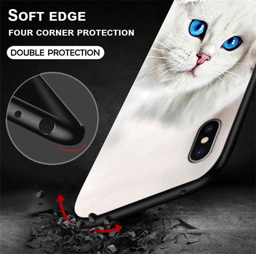 Bercahaya untuk Xiaomi Redmi Pergi S2 Y2 Kasus Malam Bersinar Cahaya Kulit untuk Redmi Note 4 7 8 5 6 Pro Cover Shell