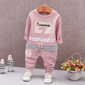 Baby Two-Piece-Set Autumn Girls Children 1-3-Years And Spring Long-Sleeve Health BOY'S