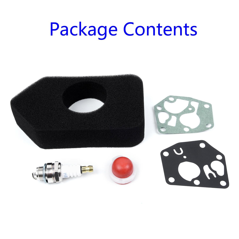 Carburetor Diaphragm Gasket Kit for BRIGGS /& STRATTON 495770 795083 698369 STOCK