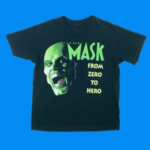 Vintage The Mask Movie T-Shirt 90&rsquos Rare USA Jim Carrey Comedy Promo 1994 Harajuku Lil Peep