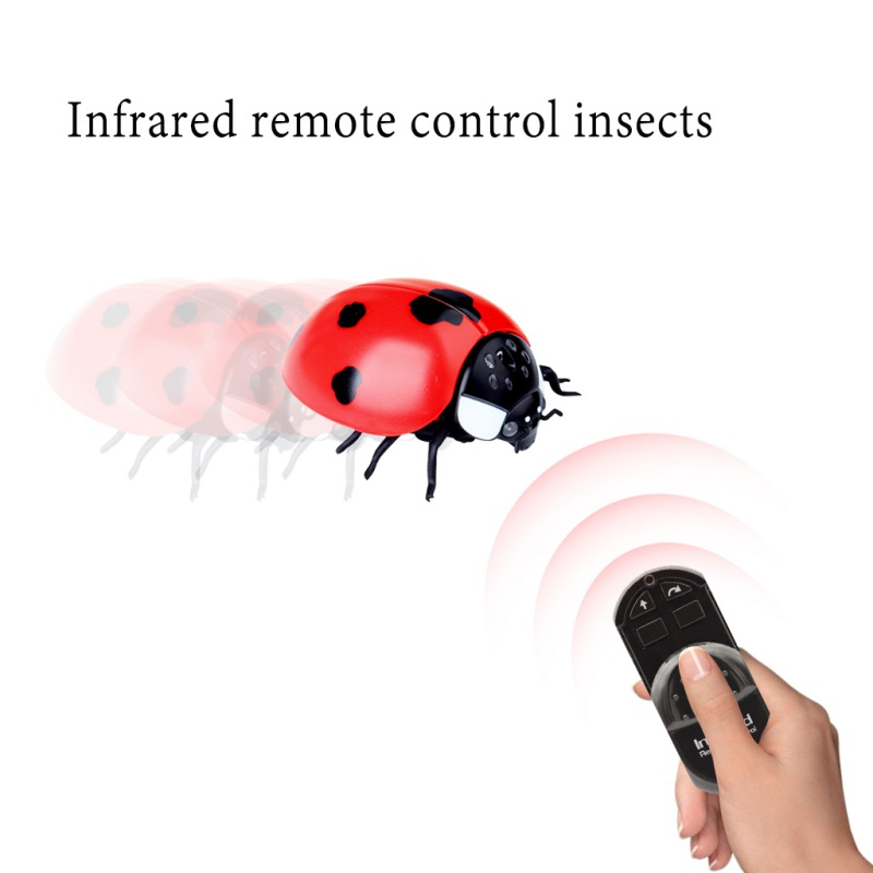 Children Remote Control Infrared Scary Insect Electric Wireless Fake Realistic Novelty Spider Toy Halloween Party Play Toy