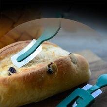 Couteau à pain en Arc, outils Lame à pain, Baguette coupe-pain français, coupe-pain incurvé avec Lame fine en acier au carbone 1 pièce