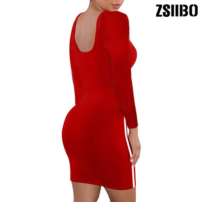 Hd1b8500259e247da9182264b299a7efbW ZSIIBO Casual Tight Dress Women Fashion Sexy Stretch Slim Dresses Ladies Summer Striped Tank Mini Dress Plus Size Vestidos
