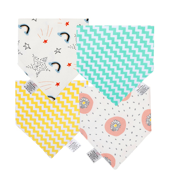 Baby Bandana Drool Bibs - Bandana Bibs for Boys, Girls Super Absorbent Organic Cotton Baby Bibs for Infant, Toddler new cute baby bibs cartoon printing cotton newborn infant girls and boys toddler triangle scarf bandana