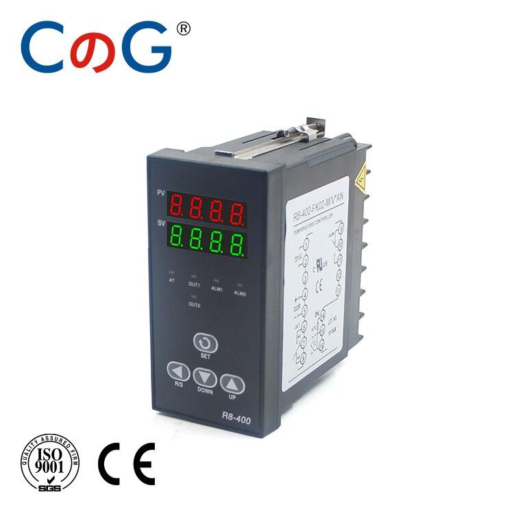 CG 48*96mm 1300 Degree Input K J PT100 0-10V 4-20mA Output SSR Relay 220V 24V 380V Thermostat 1 Alarm PID Temperature Controller