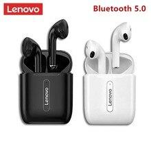 Lenovo x9 fones de ouvido sem fio bluetooth 5.0 in-ear touch control esporte tws fones de ouvido sweatproof in-ear fones de ouvido com microfone