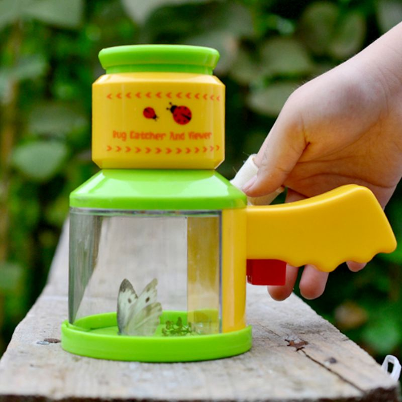 Bug Catcher Insect Viewer Microscope Scientific Exploration Teaching Kindergarten Toy For Kid Children 95AE