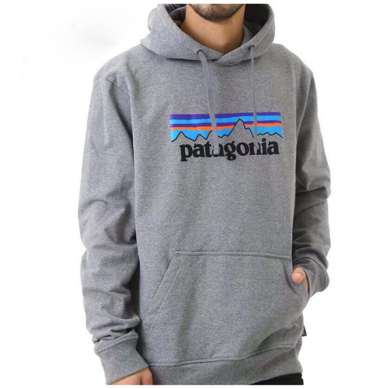 2019 Trendy Faces Patagonia Hooded Mens Hoodies And Sweatshirts Oversized For Autumn With Hip Hop Winter Hoodies Men Brand S-3XL