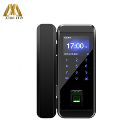 Glas Vingerafdruk Slot Digitale Elektronische Deurslot Voor Thuis Anti-Diefstal Intelligente Wachtwoord Rfid Card Standalone Opener XM-300B