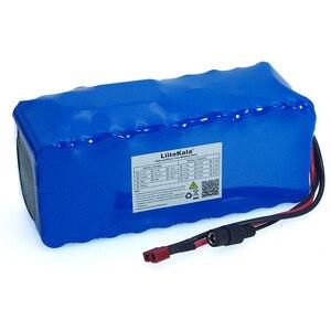 Image 3 - Batteria ricaricabile 36V 8Ah 10S4P 500w 18650, biciclette modificate, protezione per veicoli elettrici 36V con caricabatterie BMS 42v 2A
