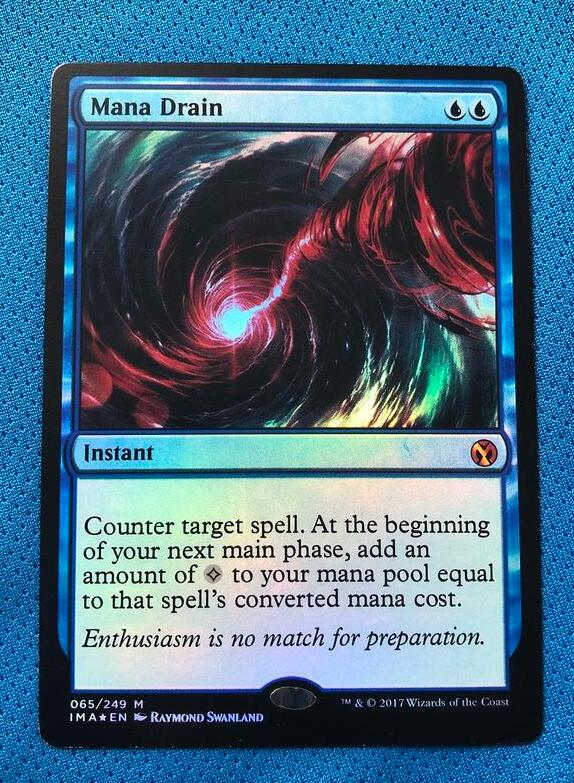 Mana Drain	Ima Foil Magician ProxyKing 8.0 VIP The Proxy Cards To Gathering Every Single Mg Card.