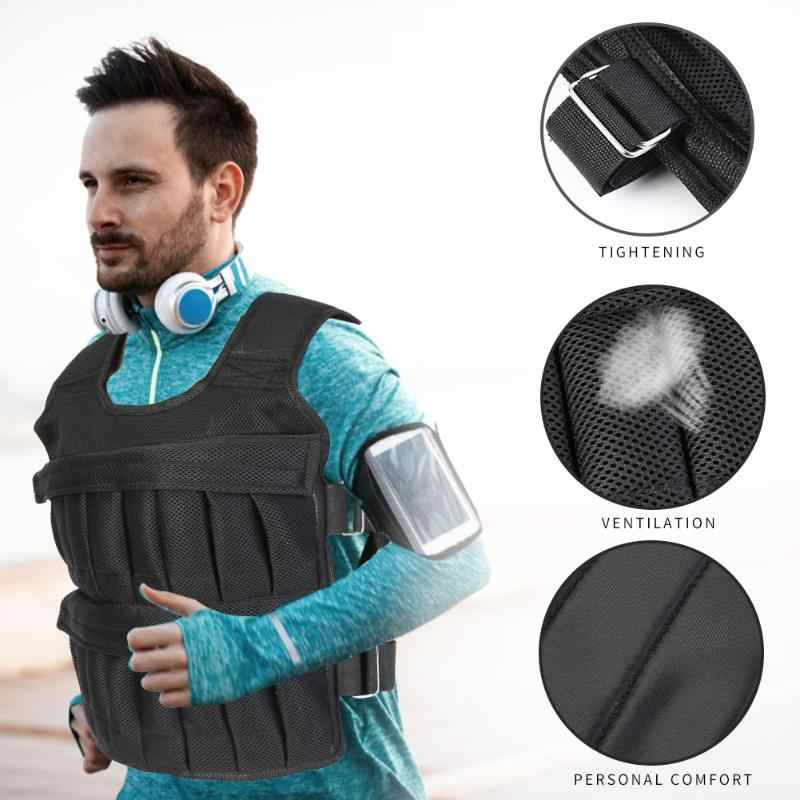 Hot Koop Running Vesten Bekwame Productie 3/15/35Kg Laden Gewicht Vest Boksen Training Workout Fitness Jas vest