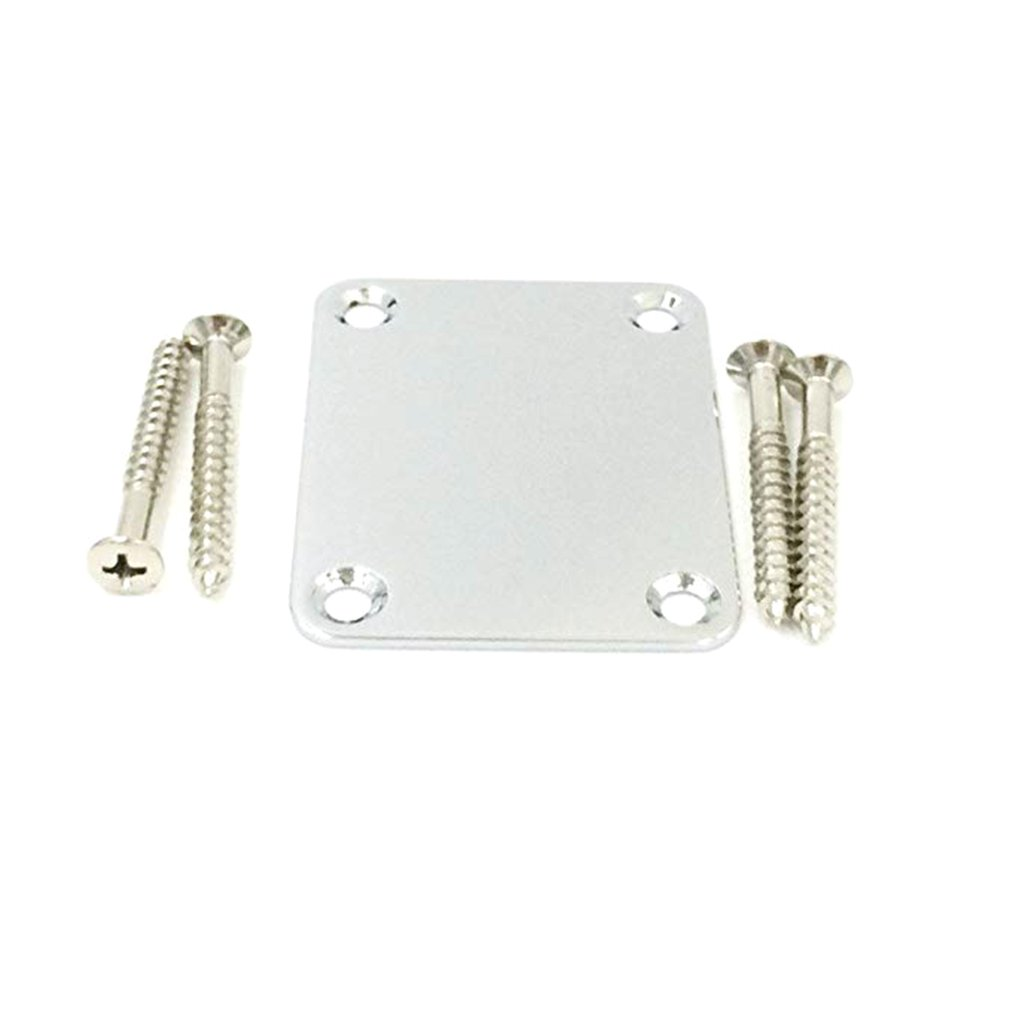 Electric Guitar Bass Strengthening Boards Guard Neck Body Connecting Plates Reinforcing Plate