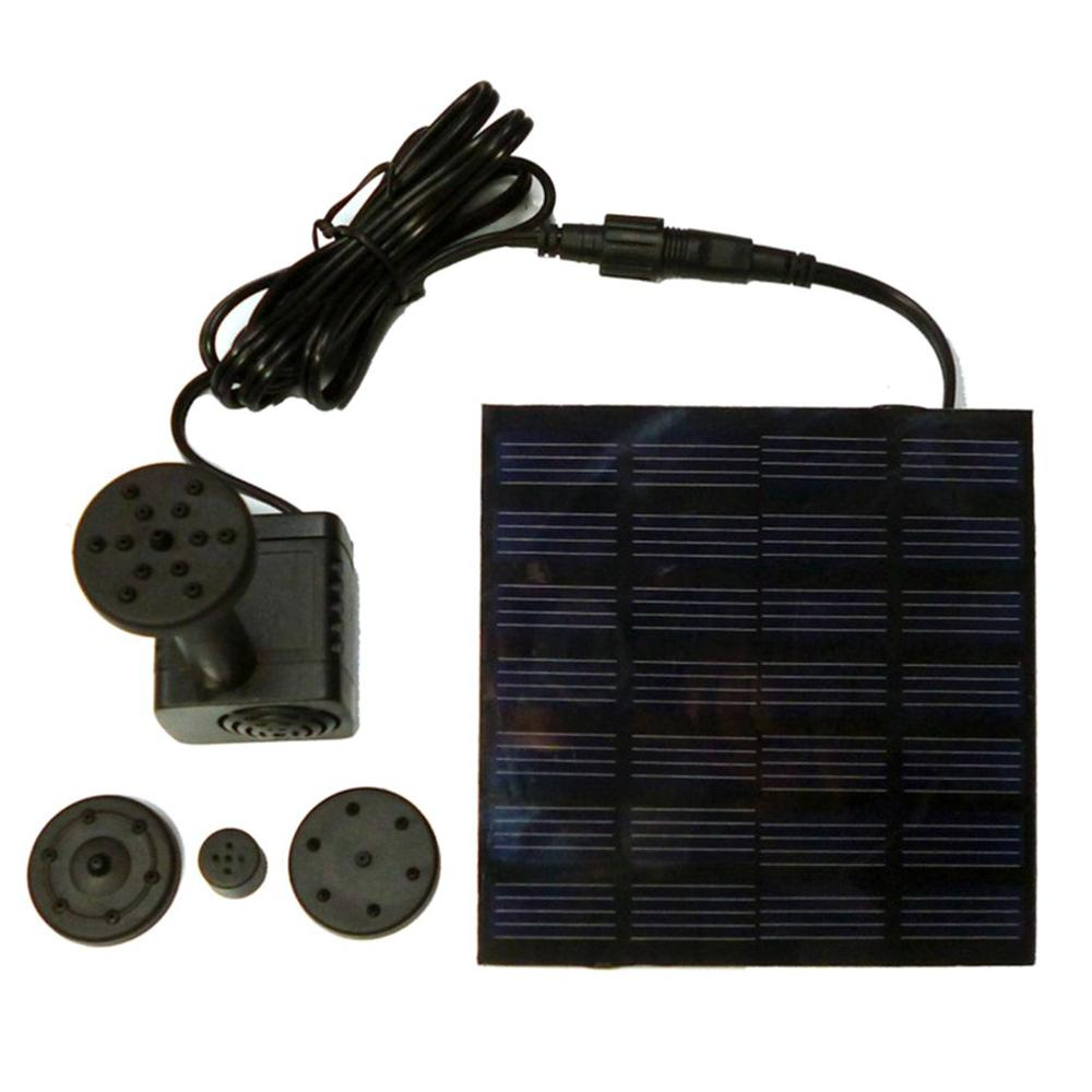 Solar Water Pump Solar Fountain Garden Miniature Floating Fountain Solar Water Fountain Outdoor Fountain