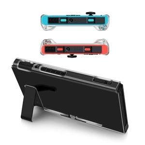 Image 5 - Sac à dos Transparent housse de protection pour Nintendo Switch NS NX étuis housse pour Nintendo Switch Ultra mince PC sac Transparent