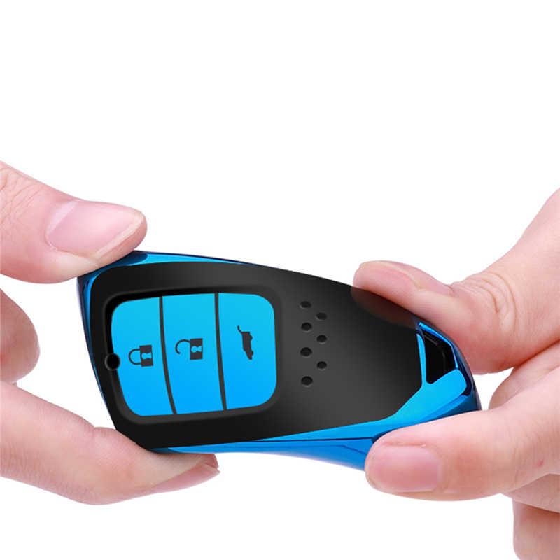 Funda para llave de coche TPU suave para Honda Civic 2017 Cr-V Tarjeta V Acuerdo 9 piloto Vezel 2015 ciudad 2016 Jazz Crider HRV para pc del coche