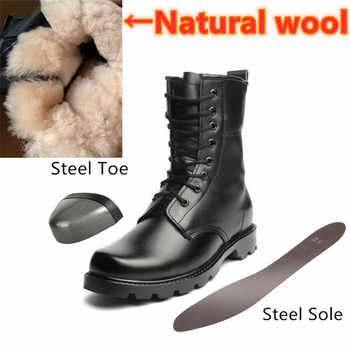 Fashion Safety Boots Steel Toe mid-plate Anti-slip Anti-smashing Wilderness Survival Work Men Boots #WG199 - DISCOUNT ITEM  25% OFF Shoes