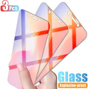 3Pcs Tempered Glass For Xiaomi Redmi 5 Plus 6 5 4X 6A 5A Protective Glass For Redmi Note 6 5 5A Pro Screen Protector Glass HD