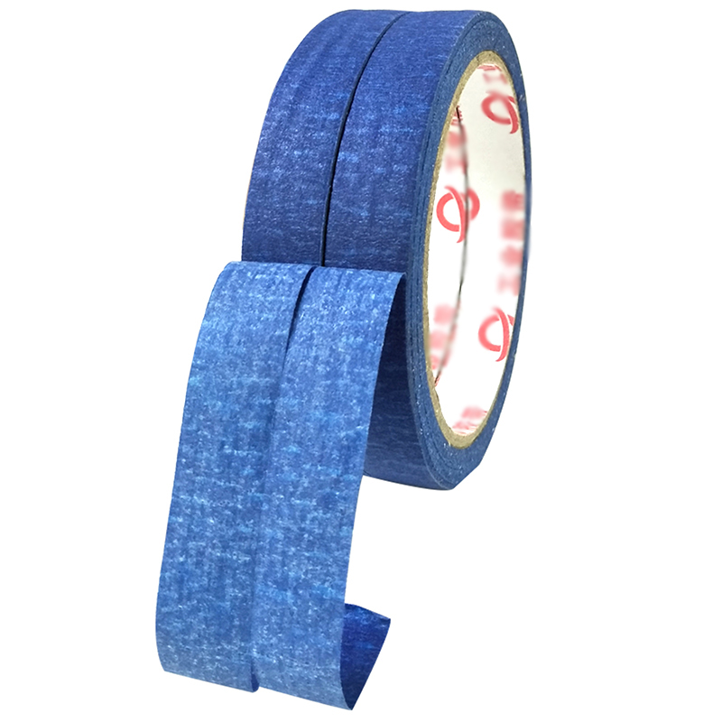 Blue Masking Tape Is Easy To Tear And Not Sticky Professional Painters Tape Adhesive Tape Resistant To Solvents And Moisture