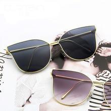 Новинка 2020 солнцезащитные очки «кошачий глаз» женские брендовые