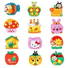 Bag Kindergarten Handmade Creative Diy Craft-Toy Toy-Material Puzzle Package Pen-Holder
