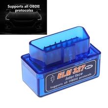 1PC Bluetooth Mini ELM327 Car Diagnostic Interface Scanner Tool Torque Top Quality