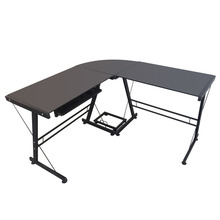 L-Shaped Durable Stalinite Splicing Computer Desk Study Table Office Table Easy to Assemble