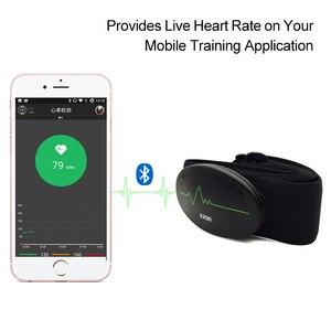 Image 3 - Cinturón de pecho con control del ritmo cardíaco, Bluetooth 4,0, rastreador de ejercicios para deportes al aire libre y musculación EZON C009