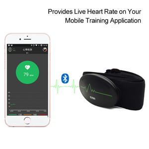 Image 3 - Heart Rate Monitor Chest belt Bluetooth 4.0 Fitness Tracker for outdoor Sports and body building EZON C009