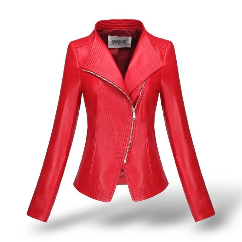 Genuine Leather Montone Jacket Women Real Sheepskin Coat Female Slim Short Outwear Casual Elegant Trench Coat LWL1479
