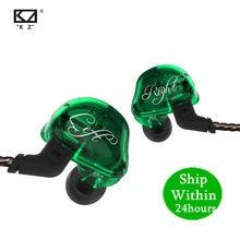 Kz zsr 1dd + 2ba alta fidelidade esporte in-ear fone de ouvido dinâmico motorista cancelamento de ruído fone de ouvido substituição cabo as10 zs10 zst