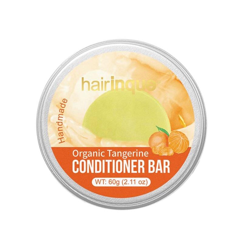 Organic Mandarin Fragrance Bars Soap Handmade Vitamin C Nourishing Hair Conditioner Hair Care Soap