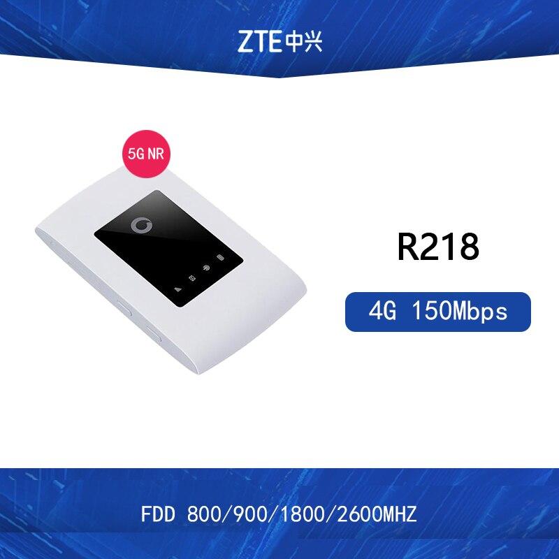 Unlocked Original ZTE Vodafone R218 Mobile Wi-Fi 4G Wifi Router 4G FDD-LTE Cat4 Pocket 3g Wifi Router PK E8372H E5573S