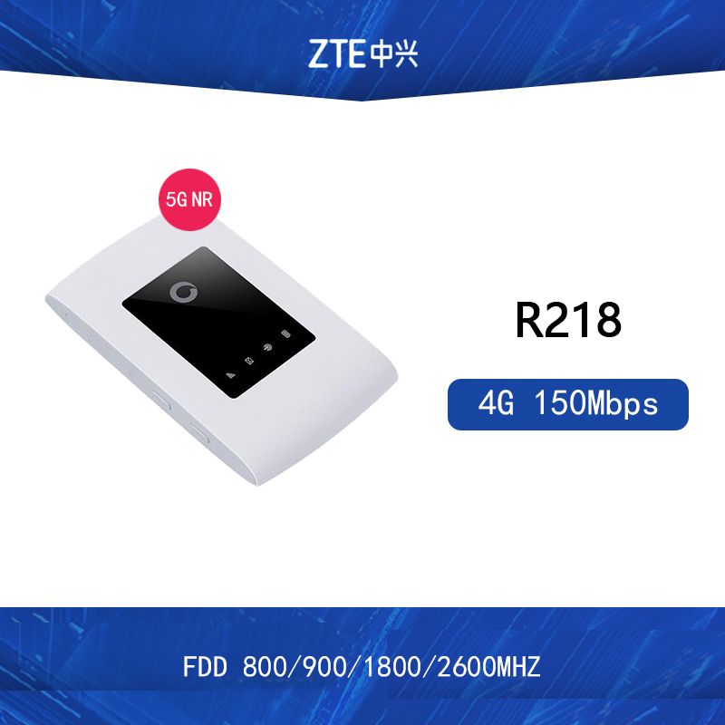 Unlocked Original ZTE Vodafone R218 Mobile Wi Fi 4G Wifi router 4G FDD LTE Cat4 pocket