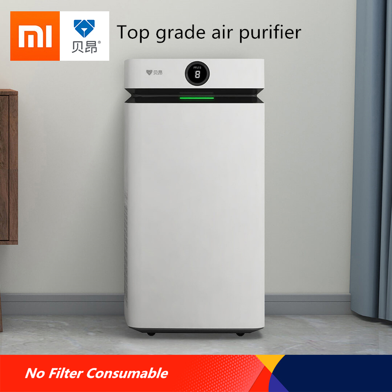 New Technolog Xiaomi Airdog top grade Air Purifier No Filter Consumable Ion Field Purification Technology