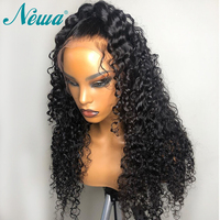 Newa Hair Full Lace Human Hair Wigs Pre Plucked With Baby Hair Curly Full Lace Wigs For Black Women Brazilian Remy Hair Wigs