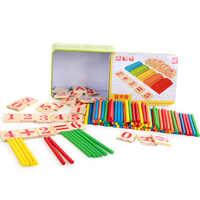 Bâtons de comptage mathématiques tige enfants tige arithmétique Abacus jouet aides pédagogiques de première qualité Addition et soustraction avec Numbe
