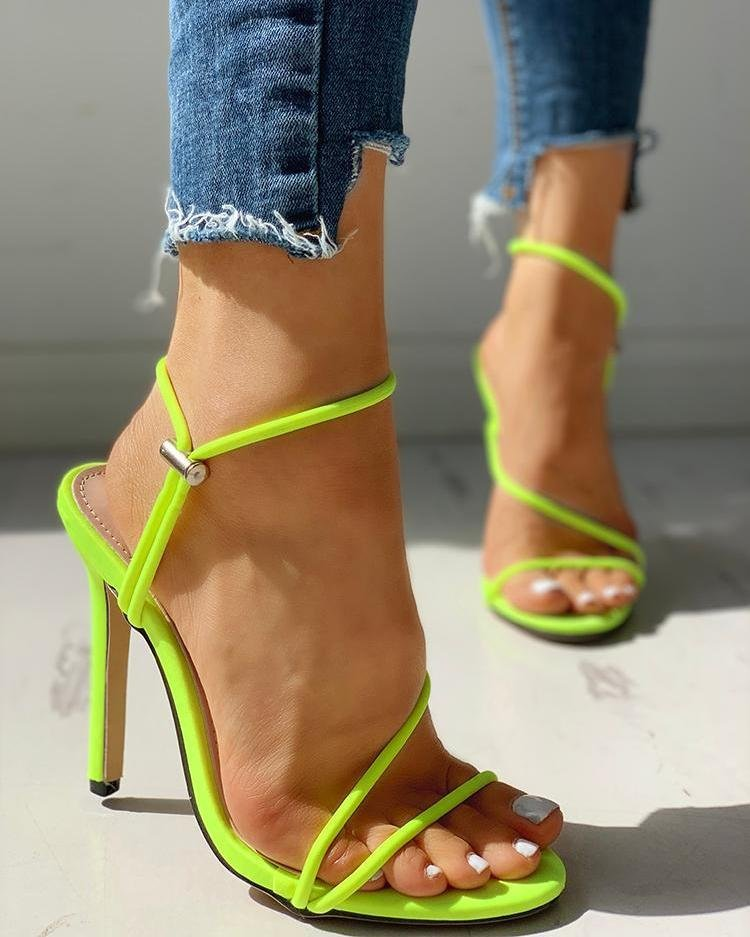 New Arrival Hot-selling Summer Shoes Peep Toe Sweet Fashion Women Sandals Thin Heel Pumps Princess High Heels Sandalia Feminina