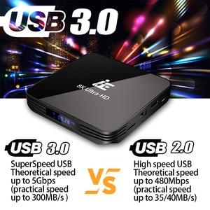 Image 3 - Ie X3 Air Android 9.0 8K 4K Tv Box Ultra Hd Xdr Youtube 1000M 5G wifi Amlogic S905X3 4 Gb 32 Gb 64 Gb Set Top Tv Box