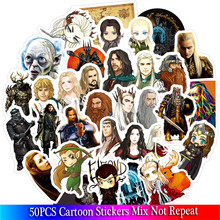 50 Pcs lot Classic Movies Hobbit Stickers Set PVC Stickers font b Toys b font Decor
