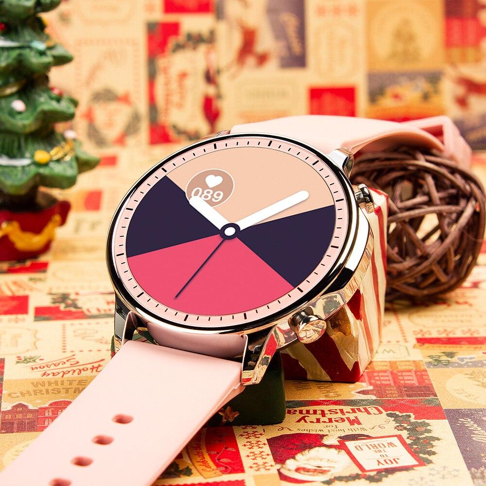 Hd1bc97c894884c469aca80e8e3a1b5ba0 COLMI V23 Women Smart Watch Full Touch Fitness Tracker IP67 Waterproof Blood Pressure Smart Clock Men Smartwatch