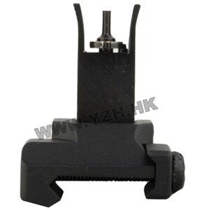 """Image 3 - Emersongear tattico vista anteriore vista posteriore SR 25 Flip Up fol""""per Airsoft caccia giocattolo accessorio"""
