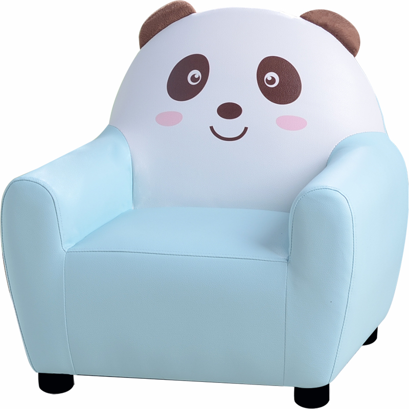 Children Sofa Cartoon Girl Princess Baby Single Person Leather Art Sofa Chair Lovely Boy Lazy People Small Sofa
