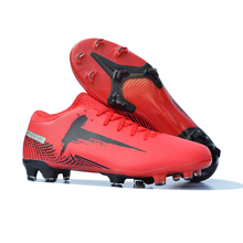 Outdoor Men Boys Soccer Shoes Turf Futsal Football Boots Kids Cleats Training Football Shoes High Ankle Long Spikes Sneakers AG